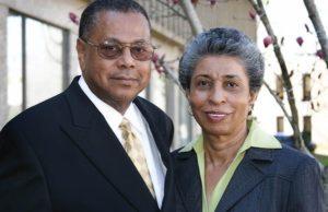 Dr. George Barnes and Doris Barnes