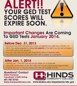 GED Test Scores Expiration