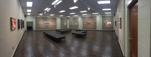 The Marie Hull Gallery on the Raymond Campus hosts a variety of art mediums throughout the spring 2014 semester.