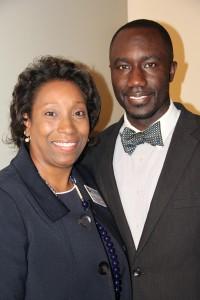 Utica Campus Vice President Dr. Debra Mays-Jackson and Jackson Mayor Tony Yarber