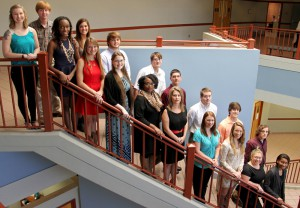 Members include, front from left, Karlee Alexander of Puckett, Chelsi Archie of Brandon, Leah Burkes of Morton, Jade Crawford of Pelahatchie, Shakila Riley of Pearl, Delina Henderson of Eupora, Kristina Middleton of Brandon, Cody Norman of Brandon, Colleen Kilgallon of Brandon, Jael Lee of Mendenhall; back, James Robert Weathersby of Shivers, Kendal Walsh of Brandon, Zack Gray of Pelahatchie, Matthew Prestage of Morton, Aubrey Overton of Pearl, Matthew Johnston of Florence, Trevor Jordan of Pelahatchie, Micah Myers of Brandon. Not pictured is Tyler Causey of Brandon.