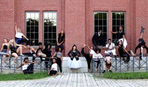Members of Montage include, from left, Sarah Thames of Pearl, Alyssa Vernon of Richland, Brook Vernon of Richland, Dominique Mathis of Clinton, Charlie Wright of Utica, Xiandria Gabby Long of Jackson, LaCia Moses of Jackson, Versace Devine of Madison and Nate Campbell of Clinton, center, director Tiffany Jefferson of Terry; from right, Zairia Bell of Byram, Natalya Burton of Jackson, Walter Jones of Clinton, Chelby McBee of Vicksburg, Timothy Jones of Jackson, Cheryl Harris of Raymond, Josh Knight of Terry and Katrellis Plumpp of Terry.