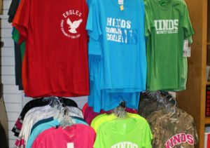 The Rankin Campus bookstore has lots of items for sale.