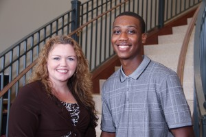 Inductees include Dana Easterling, left, and Blair McIntosh, both of Hazlehurst. (April Garon/Hinds Community College)