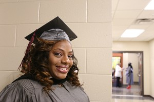 Shemika Champion, of Flora, graduated from Hinds Community College as a triple major in Culinary Arts, Hospitality Managemnt and Tourism. (April Garon/Hinds Community College)