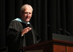 Dr. Ed Davis, director of the doctoral program for Rural Community College leaders at Mississippi State University, was the graduation speaker.