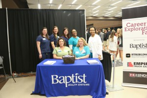Baptist Health Systems was one of three sponsors, along with Empire Trucking and Stribling Equipment, for the Nov. 8 Hinds Community College Career Exploration Day on Nov. 8 at the Rankin Campus.