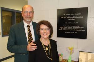 Dr. Mary Ann Greene and Dr. Roger Greene