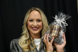Rachel Summerlin of Canton received her Associate Degree in Nursing on May 12 from Hinds Community College. She received a gift from Hinds for being the 100th graduate to check in the nursing and allied health ceremony. Hinds is celebrating the Centennial, the 100th Year of Community Inspired Service.