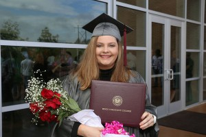Kristin Weaver of Puckett received her Associate Degree in Nursing from Hinds Community College on May 12.