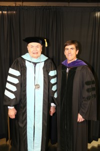 Hinds President Dr. Clyde Muse with state Sen. Briggs Hopson III (Hinds Community College/April Garon)