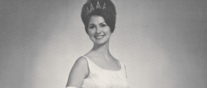 Gloria Patrick Lucas' homecoming queen photo from 1966