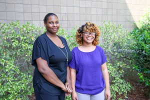 Keyana Robey, left, and Faith Peterson, both of Jackson (Hinds Community College/April Garon)
