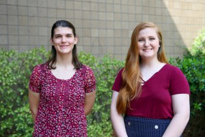 Lauren Ferguson, left, of Kosciusko, and Paula Morehead, of Morton (Hinds Community College/April Garon)