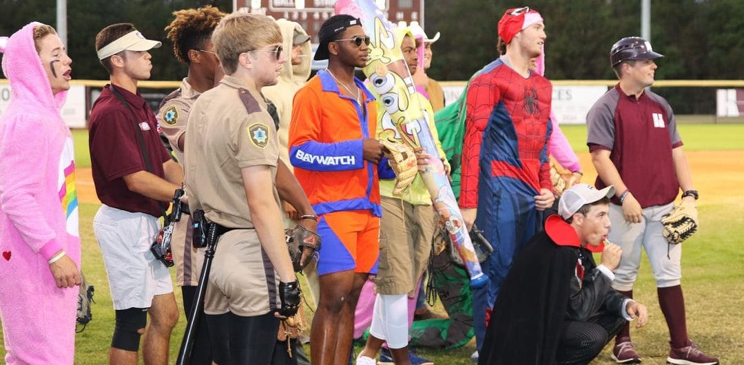 Hinds CC baseball, softball host Monster Mash for Batson Children's Hospital