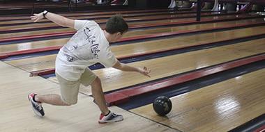 ongoing bowling match