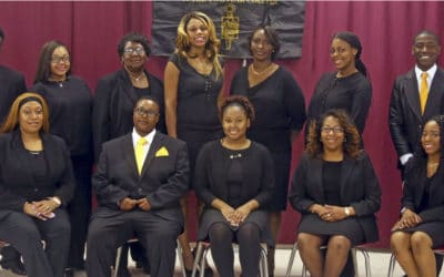 Phi Theta Kappa at Hinds CC Jackson Campus inducts new members for Spring 2019