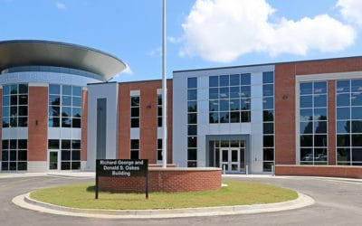 George-Oakes Building, other sites dedicated on Vicksburg campus