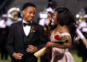homecoming queen crowned