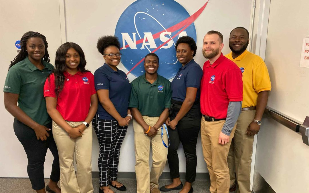 Students participate in NASA on-site experience
