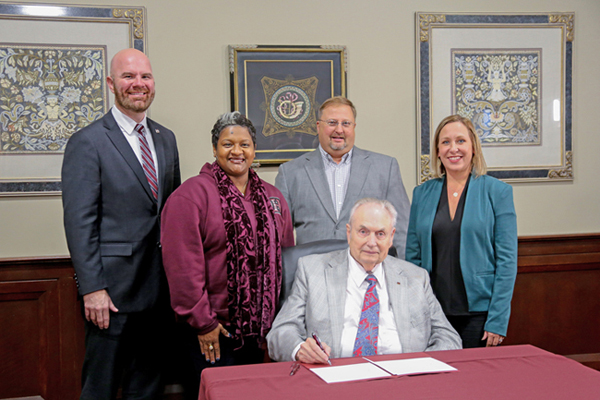Agreement signed with MSU for Bachelor of Applied Science degree
