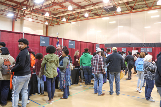 Hinds CC Raymond Campus Preview Day draws crowd
