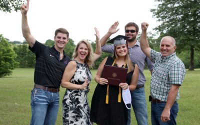 Nursing, allied health students graduate in drive-through ceremonies