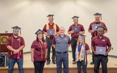 Seven instructors at Hinds CC Vicksburg-Warren Campus earn credentials