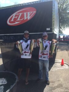 Bass fishing - McWilliams and Williams