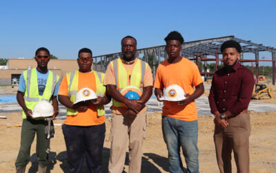 Carpentry students spend summer working hands-on project