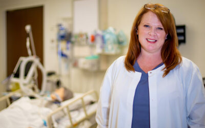 Simulation center director helps students gain confidence