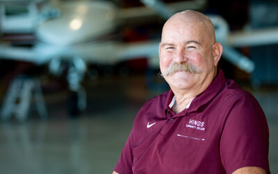 Hinds aviation instructor keeps promise, earns degree