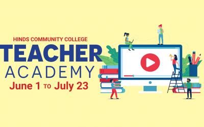 Hinds offering summer online K-12 Teacher Academy