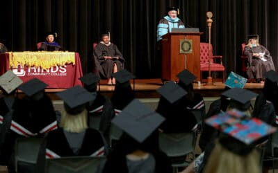 Nursing/allied health students graduate from Hinds CC
