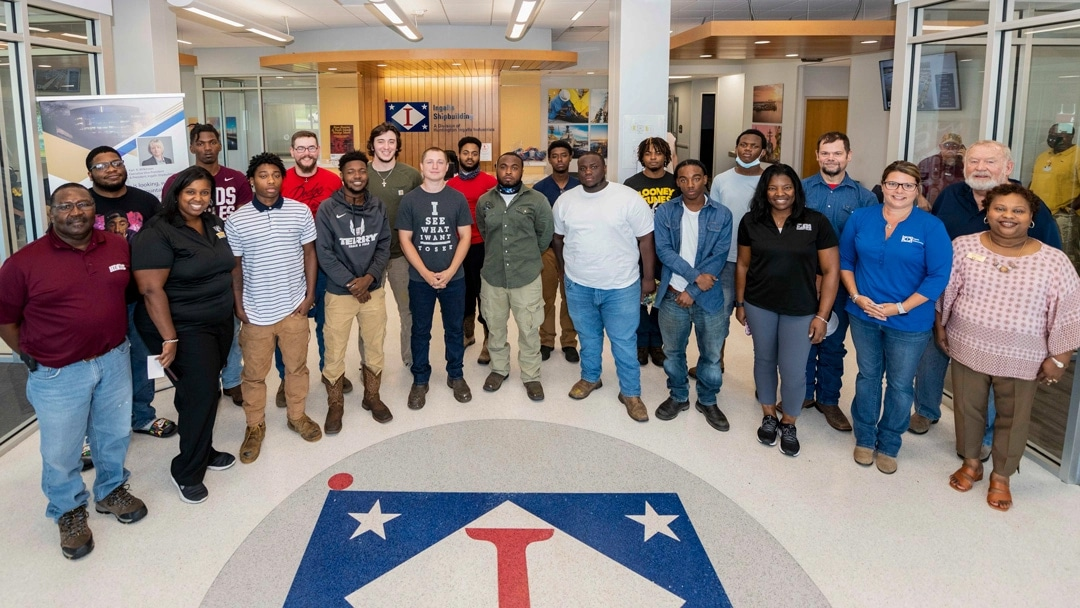 Five Hinds welding students accept offers from Ingalls Shipbuilding